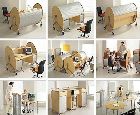Các loại bàn làm việc độc đáo trong văn phòng làm việc công ty