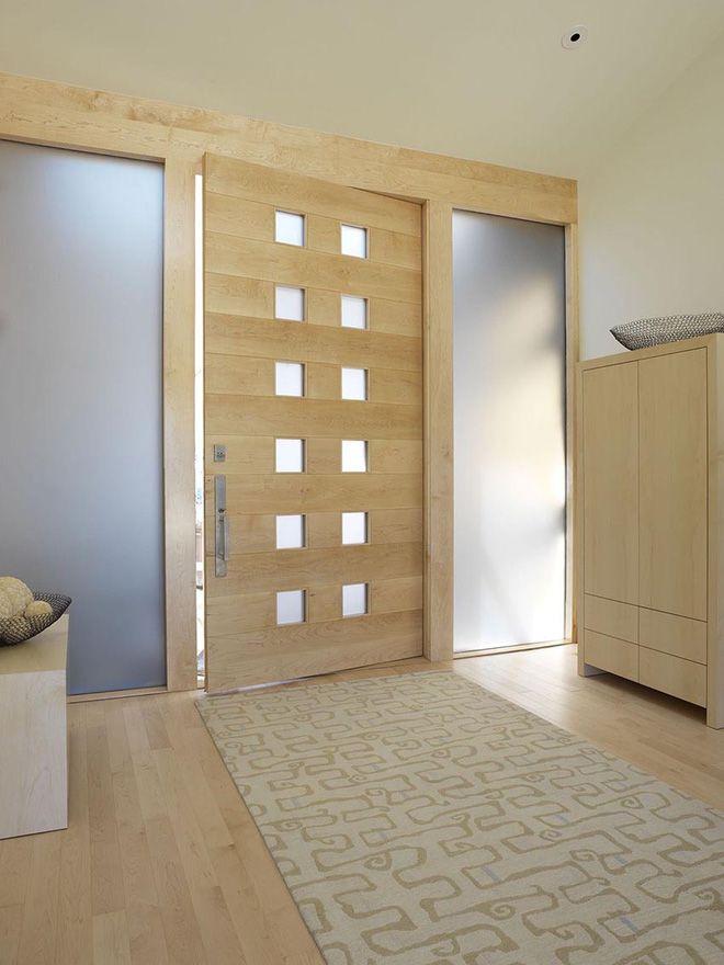 Nét thanh lịch khó chối từ của những cánh cửa văn phòng bằng chất liệu gỗ-2