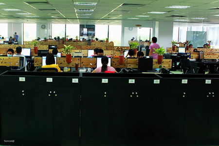 Nhìn ngắm 3 không gian văn phòng đình đám nhất ở Việt Nam-1