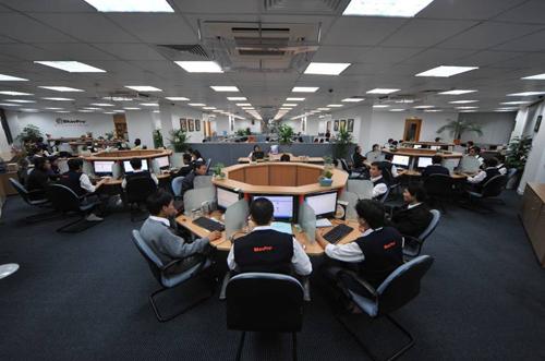 Nhìn ngắm 3 không gian văn phòng đình đám nhất ở Việt Nam-3