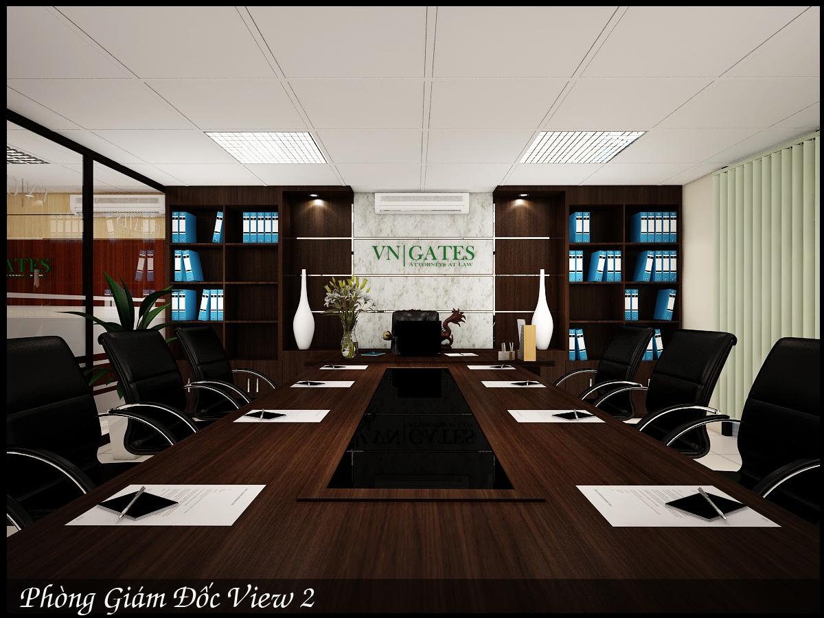 Thiết kế nội thất văn phòng luật chỉ với 200 triệu