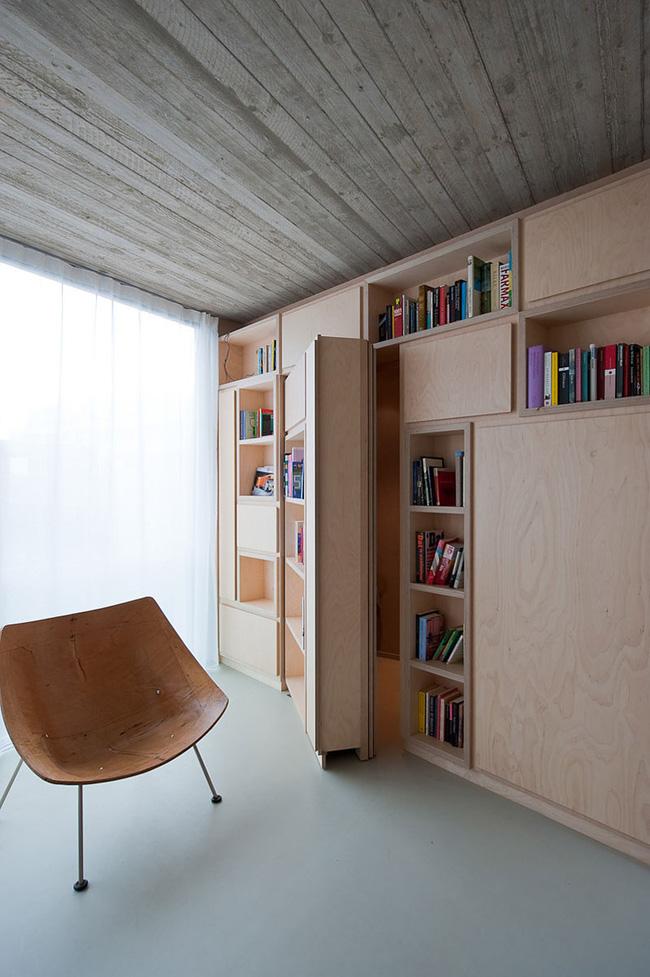 Sử dụng cửa bí mật để tạo không gian riêng tư trong văn phòng làm việc-6