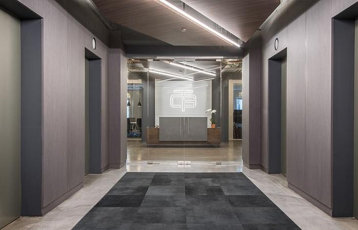 Thi công nội thất văn phòng thương mại Geneva