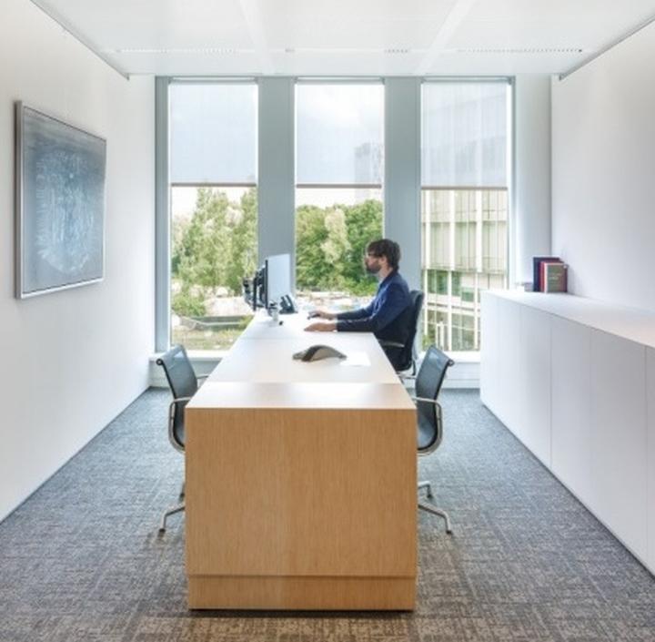 Thiết kế nội thất phòng làm việc công ty xuất bản sách-2