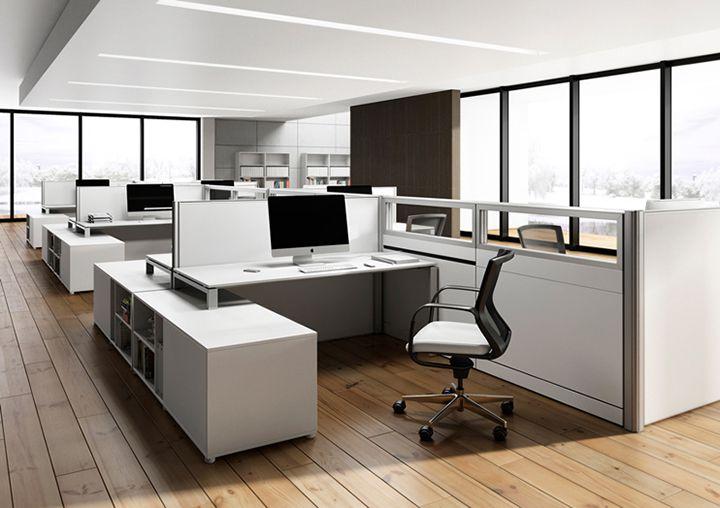 Chọn sơn tường màu sáng cho thiết kế văn phòng 30m2