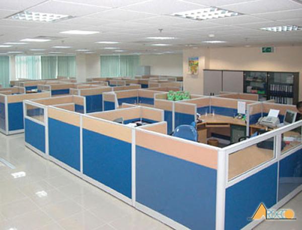 Thiết kế nội thất văn phòng làm việc hiện đại theo phong cách mở-2