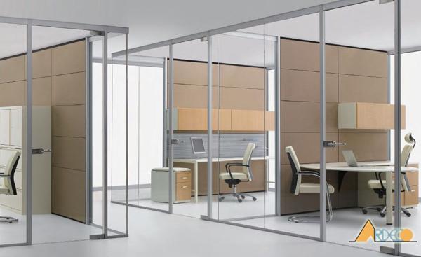 Thiết kế văn phòng làm việc hiện đại theo phong cách mở