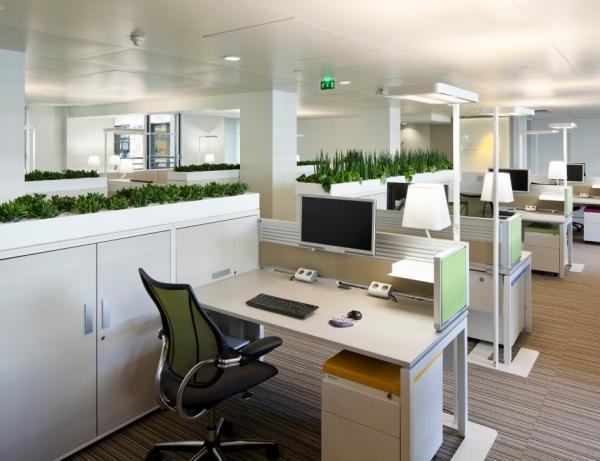 Thiết kế nội thất văn phòng làm việc đa chức năng