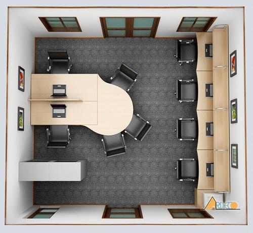 Thiết kế nội thất văn phòng nhỏ chuyên nghiệp