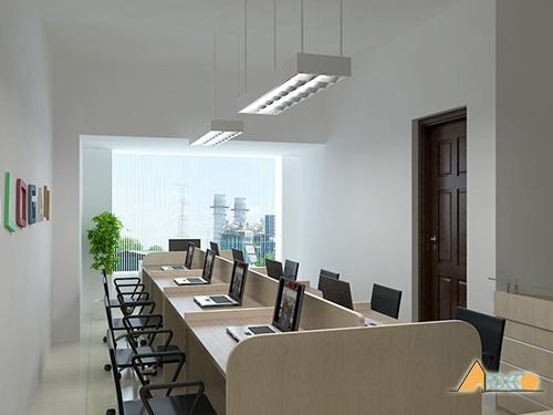 Thiết kế nội thất văn phòng nhỏ chuyên nghiệp-2