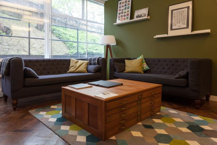 Thiết kế nội thất văn phòng trong căn hộ chung cư Bắc Linh Đàm-3