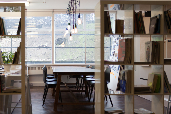 Thiết kế nội thất văn phòng trong căn hộ chung cư Bắc Linh Đàm