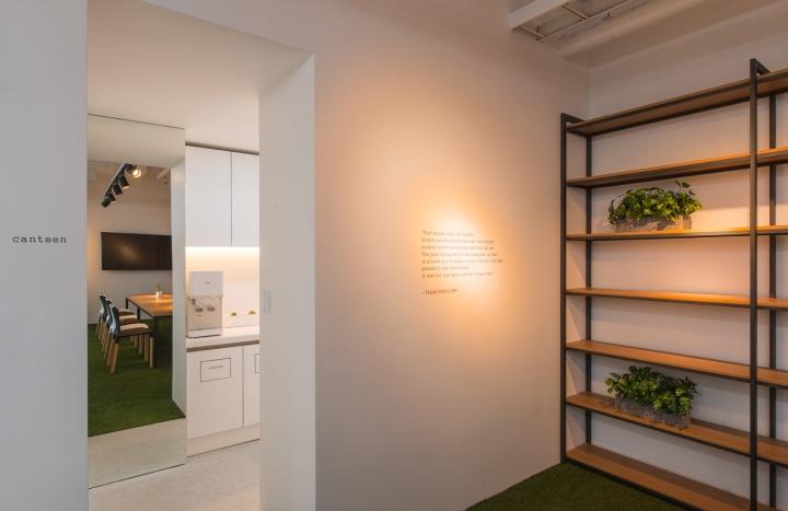 Thiết kế văn phòng công ty Solekia Keangnam-1
