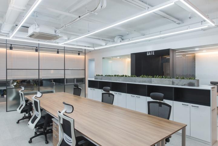 Thiết kế văn phòng công ty Solekia Keangnam-4
