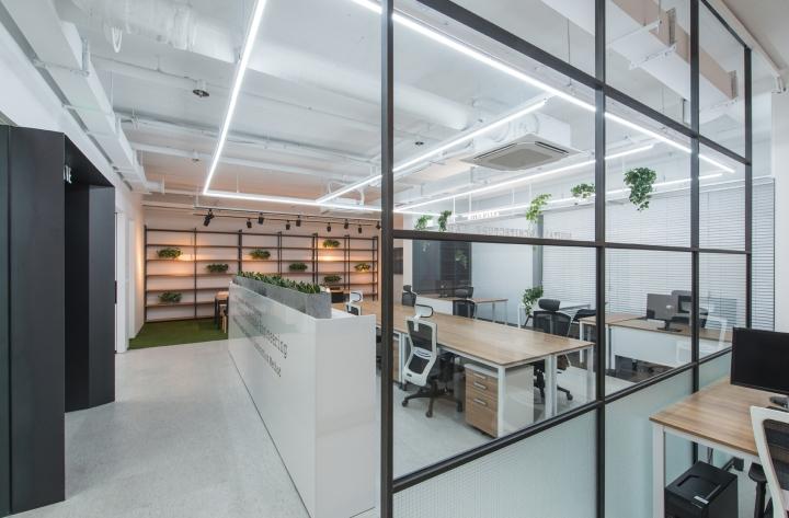 Thiết kế văn phòng công ty Solekia Keangnam-5