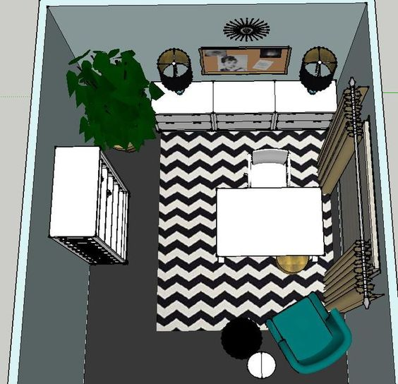 Thi t k v n ph ng l m vi c nh ch v i chi ph 20 tri u for 10 x 12 office layout