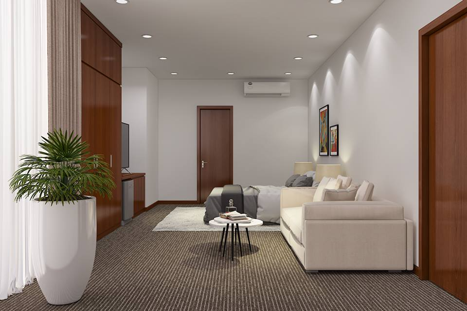 Thiết kế thi công nội thất văn phòng ngân hàng Viettinbank Hà Giang-3