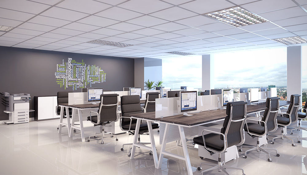 Các mẫu thiết kế văn phòng đẹp nhất 2016