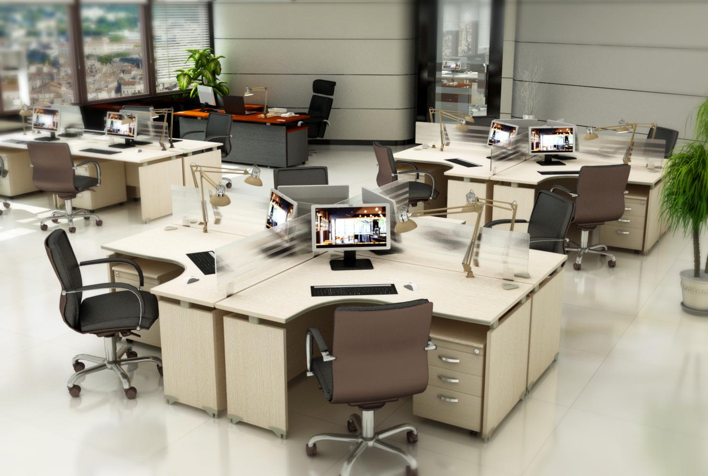 Gợi ý thiết kế văn phòng 30m2 xinh xắn, hiện đại