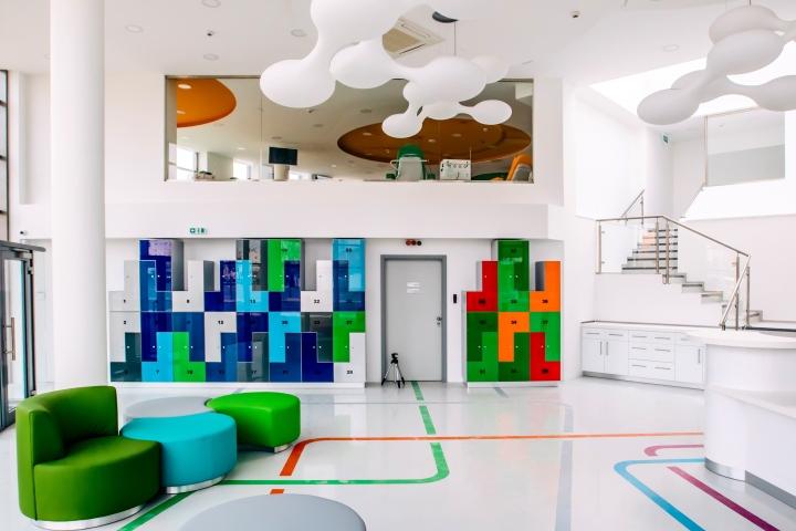 thiết kế văn phòng trung tâm y tế ravamifi