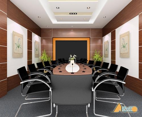 Thiết kế nội thất phòng họp sang trọng cao cấp