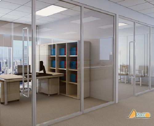 Thiết kế nội thất văn phòng          hiện đại theo phong cách mở