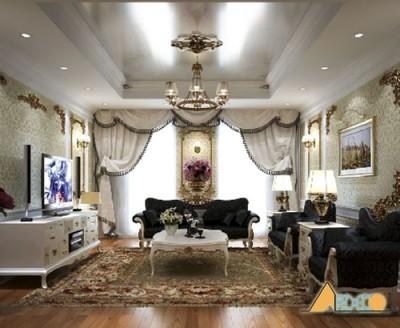 Thiết kế nội thất chung cư đẹp theo phong cách cổ điển