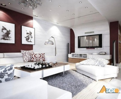 Thiết kế nội thất chung cư đẹp sang trọng