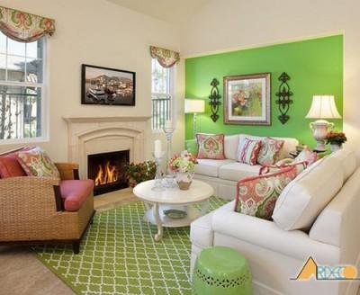 Kinh nghiệm lựa chọn màu sắc khi thiết kế nội thất nhà ở
