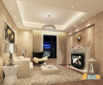 Thiết kế nội thất gia đình sang trọng