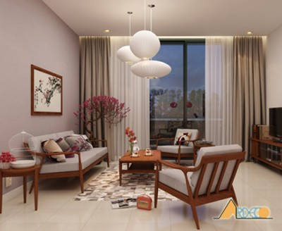Thiết kế nội thất gia đình theo phong cách phương đông