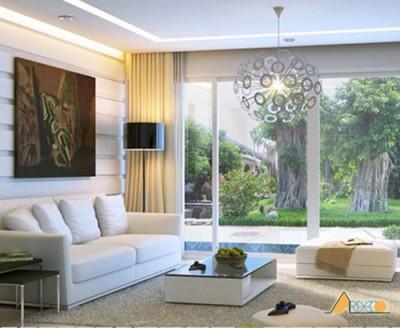 Thiết kế nội thất phòng khách biệt thự chuyên nghiệp