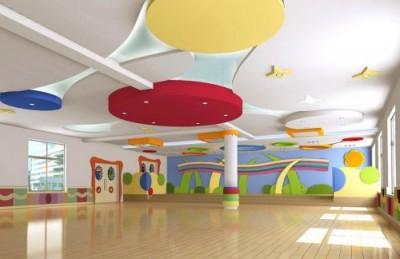 Thiết kế lớp mẫu giáo trường mầm non độc đáo sắc màu