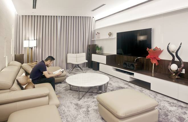 Thiết kế nội thất chung cư 70m2 ấn tượng