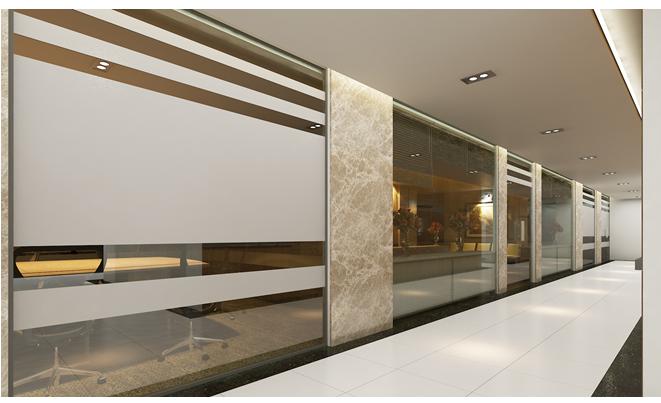 Thiết kế nội thất văn phòng công ty Hoàng Long
