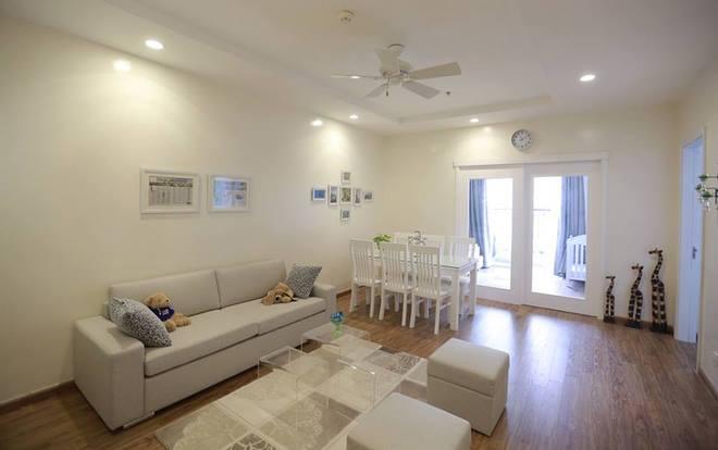Thiết kế nội thất chung cư 80m2 trang nhã, hiện đại
