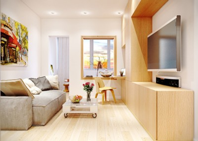 Giải pháp thiết kế phòng khách cho căn hộ chung cư có diện tích nhỏ