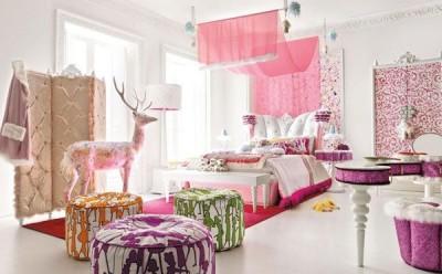 Thiết kế nội thất phòng ngủ nhỏ xinh cho bé gái