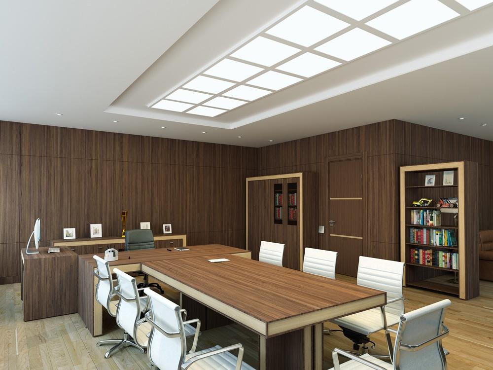Thiết kế nội thất phòng họp đa chức năng ấn tượng