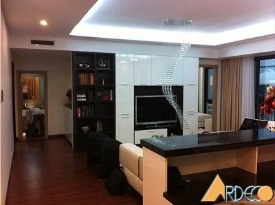 Thiết kế nội thất căn hộ cao cấp Golden Land 275 Nguyễn Trãi