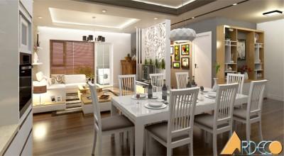 Thiết kế nội thất chung cư Anh Sáng - Cầu Giấy