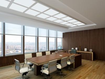 Thiết kế nội thất phòng họp sang trọng hiện đại