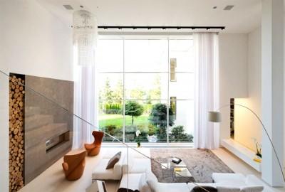 Thiết kế nội thất biệt thự hiện đại ở Linh Đàm