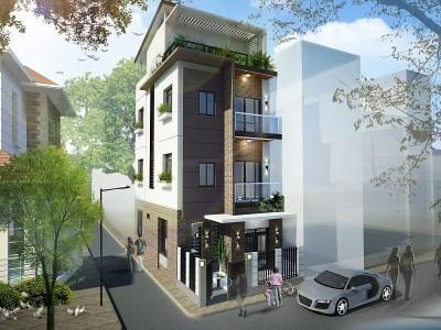 Thiết kế nội thất nhà phố hiện đại, sáng tạo
