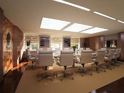 Thiết kế nội thất phòng họp cho công ty nhỏ