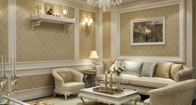 Thiết kế nội thất chung cư cổ điển với màu sắc trang nhã