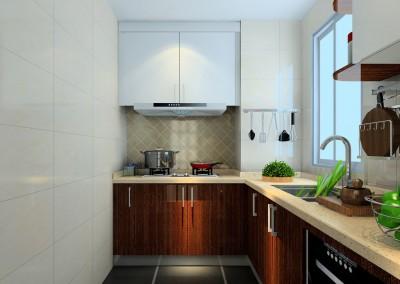 Thiết kế nội thất phòng bếp nhỏ gọn nhưng vẫn tiện nghi