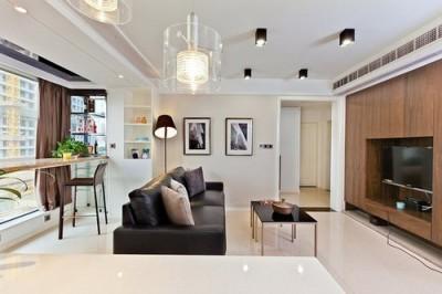 Thiết kế nội thất phòng khách chung cư VOV Mễ Trì Plaza