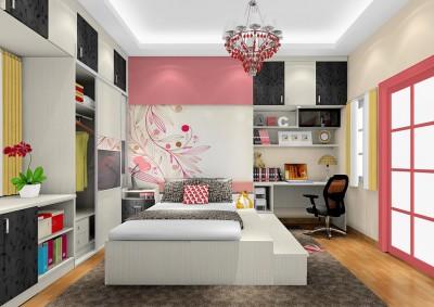 Thiết kế nội thất phòng ngủ sinh động đẹp  với thiết kế mới lạ