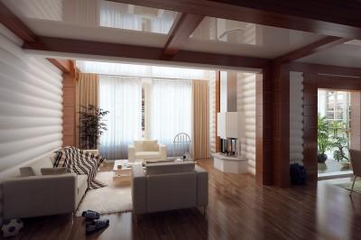 Thiết kế biệt thự đẹp với thiết kế trang nhã, không gian nhẹ nhàng, yên tĩnh
